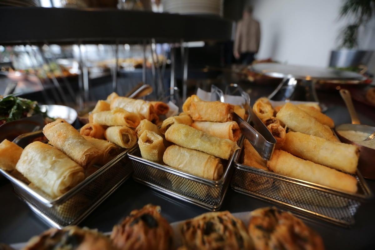 kafeterija, restoran, pekarski proizvod, hrana, trgovina, kruh, ukusno, doručak, pečenje, slatko