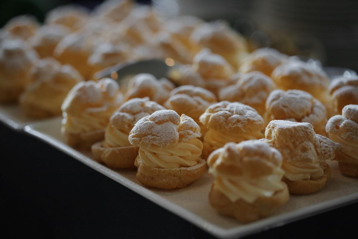 kem, món nướng, ngon, tự chế, thực phẩm, snack, Bữa sáng, ngọt ngào, đường, món tráng miệng