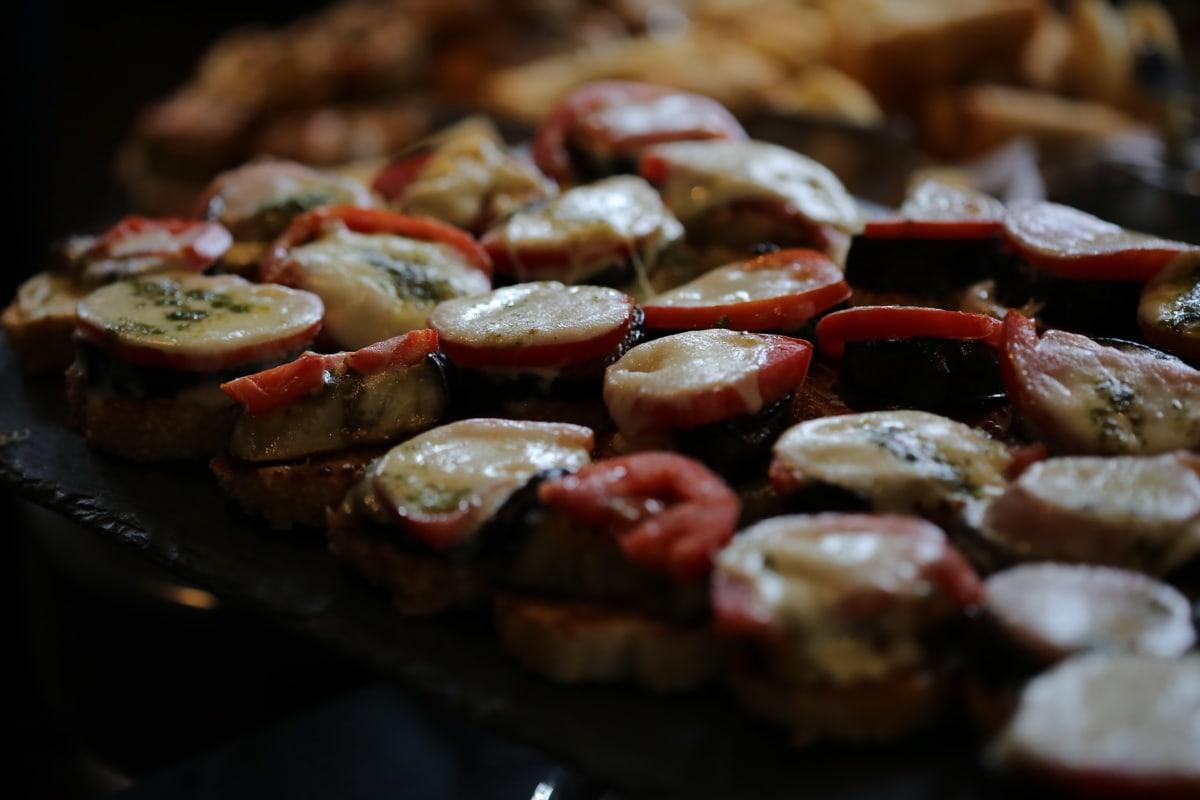 Grill, BBQ, repas, alimentaire, dîner, viande, déjeuner, restaurant, plat, légume