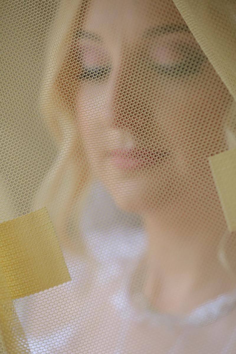 νύφη, πέπλο, πρόσωπο, υφή, μοτίβο, Σχεδιασμός, τέχνη, μοντέρνο, χώρο, φως