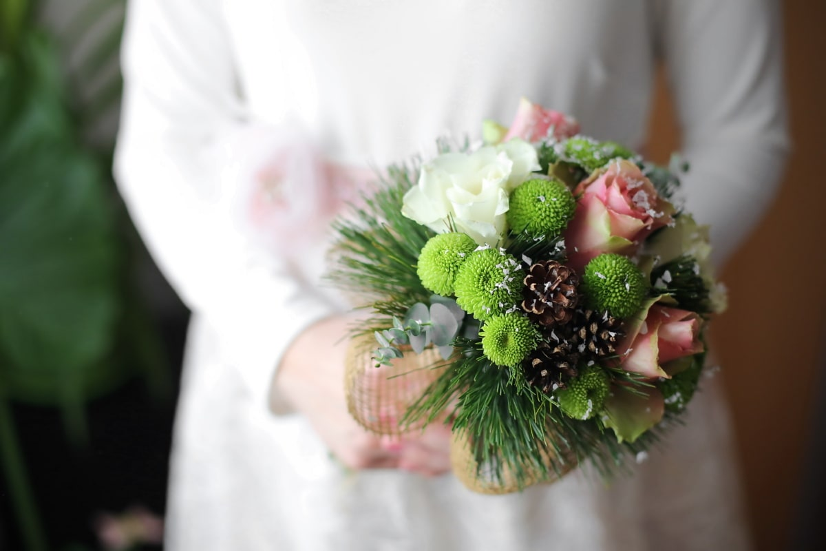 wedding, flowers, bouquet, love, decoration, bride, flower, engagement, blur, woman