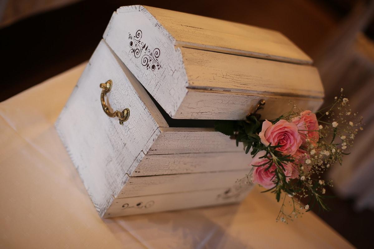 aus Holz, im Feld, elegant, romantische, Rosa, Rosen, Liebe, Retro, Holz, drinnen