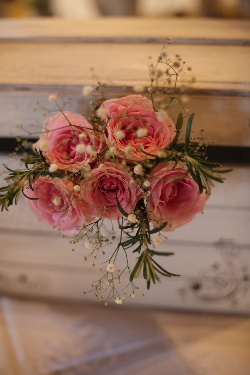 bouquet, roses, pinkish, vintage, still life, arrangement, decoration, rose, flowers, flower