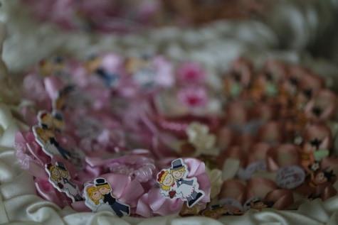 ръчно изработени, сватба, декорация, цвят, елегантна, натюрморт, колекция, романтика, розово, празник
