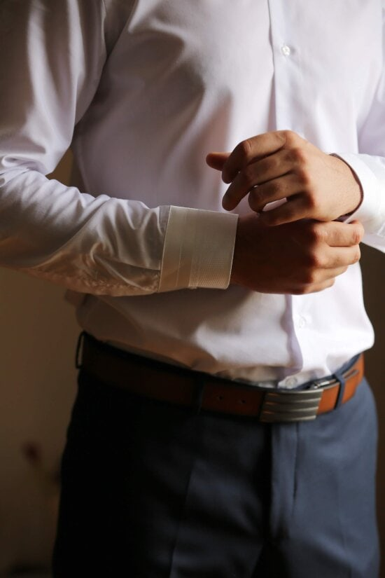 fashion, hands, suit, man, indoors, groom, pants, wedding, contemporary, hand