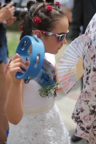 Parade, musik, Gadis, jalan, festival, gaya rambut, kacamata hitam, orang-orang, menyenangkan, pernikahan