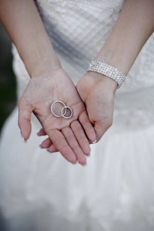 wedding ring, wedding dress, rings, bracelet, diamond, hands, woman, bride, wedding, skin