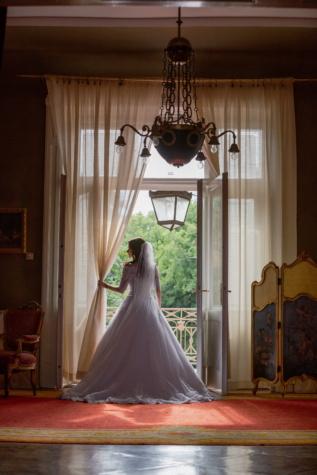 salle de mariage, baroque, robe de mariée, Salon, la mariée, mariage, rideau, à l'intérieur, chambre, miroir