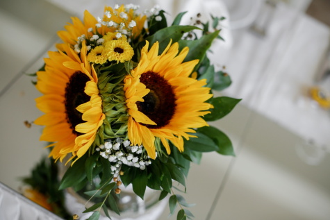 tournesol, fermer, vase, fleur, décoration, arrangement, plante, bouquet, Jaune, feuille