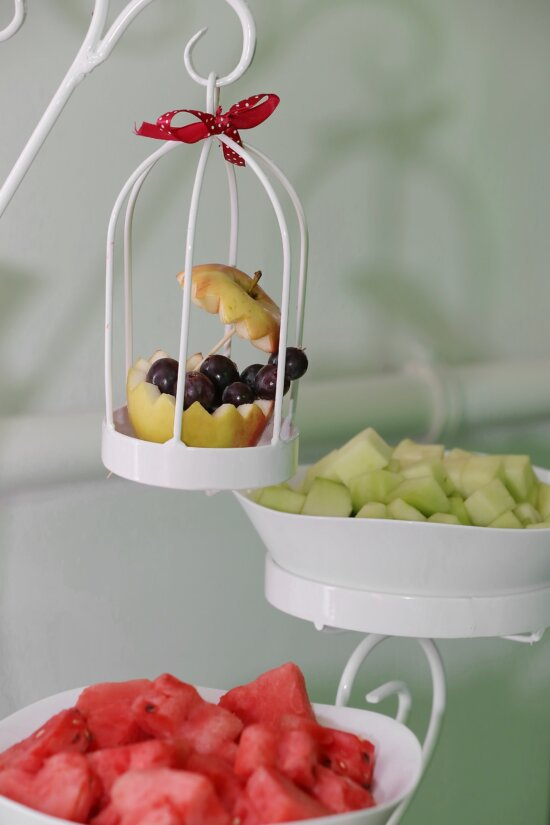 grapes, fruit, apples, decoration, cage, food, breakfast, sweet, ingredients, nutrition