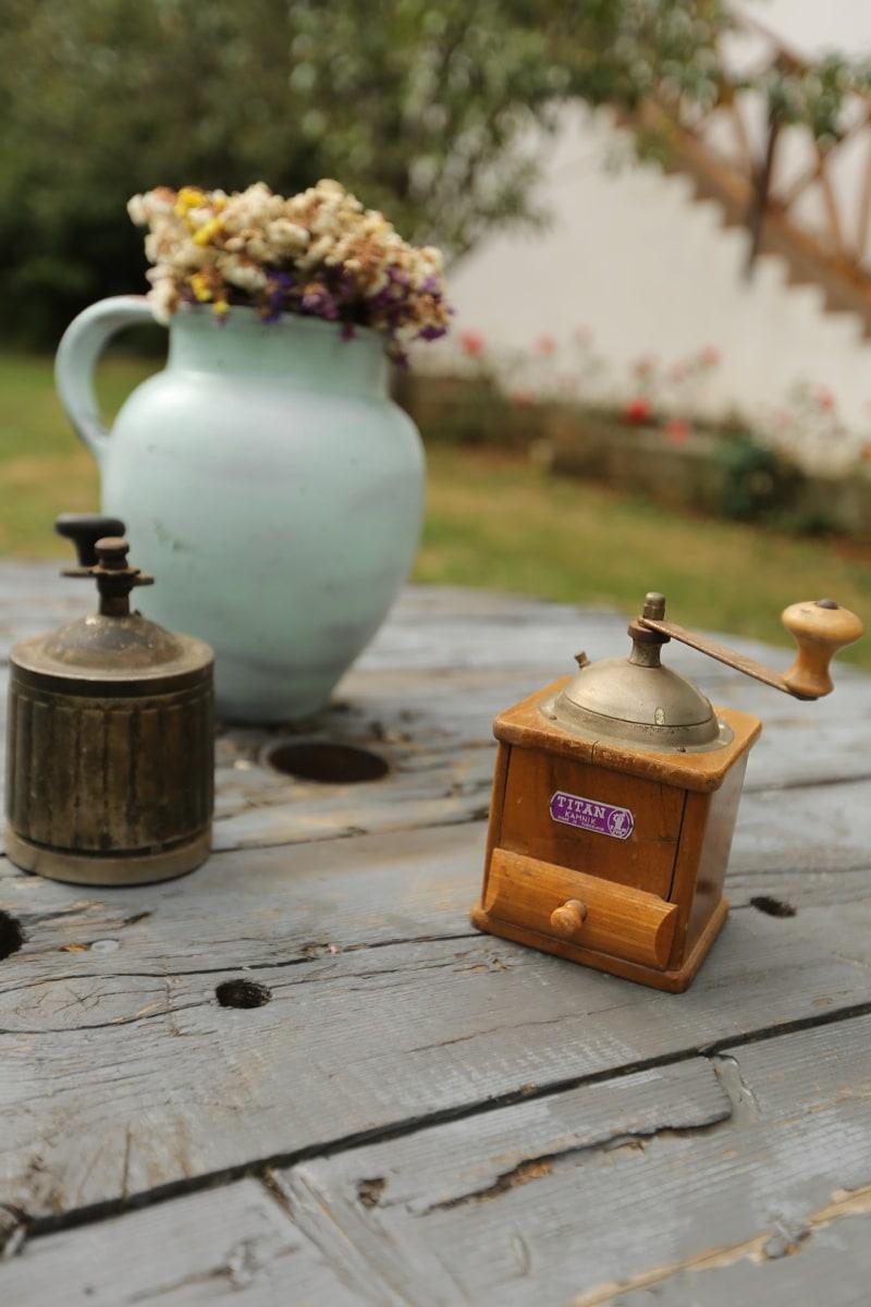 alten Stil, Jahrgang, Tabelle, Altmodisch, Objekt, Retro, Antik, alt, traditionelle, handgefertigte