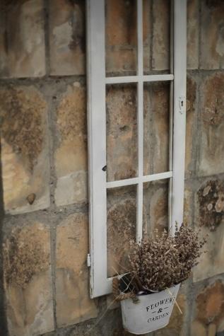 marco, ventana, antiguo, maceta, aldea, pared, abandonado, arquitectura, sucio, adentro