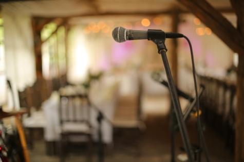 microphone, close-up, interior decoration, restaurant, music, indoors, seat, wood, furniture, room