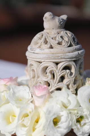 ceramics, object, bird, handmade, close-up, bouquet, flower, decoration, still life, gift