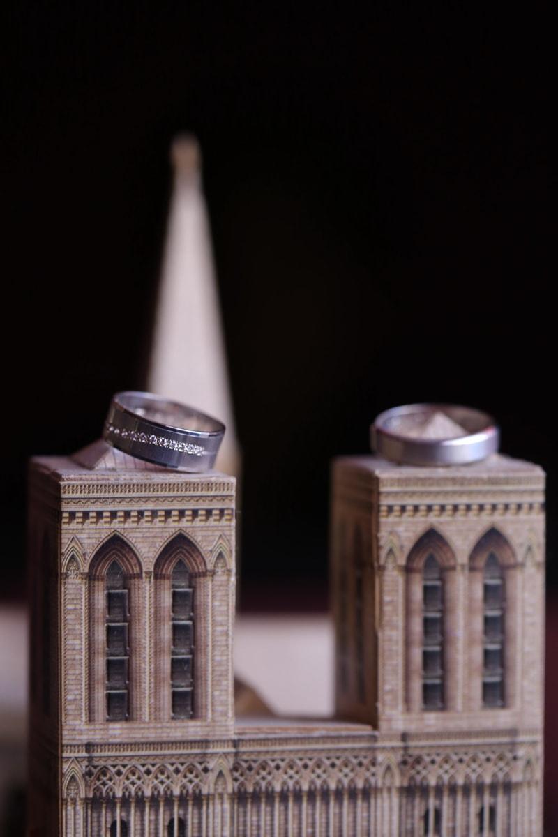 Miniatur, Ehering, aus nächster Nähe, Ringe, Architektur, alt, Religion, Licht, Kunst, Turm