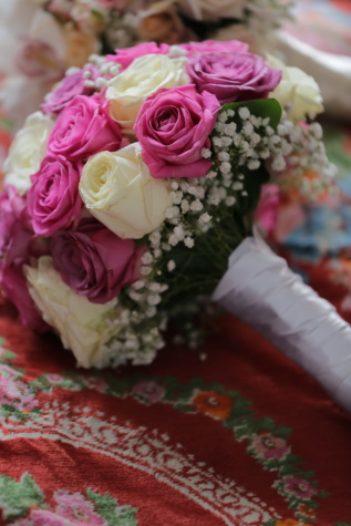 nostalgia, wedding bouquet, colorful, pastel, romance, rose, love, flower, wedding, bouquet
