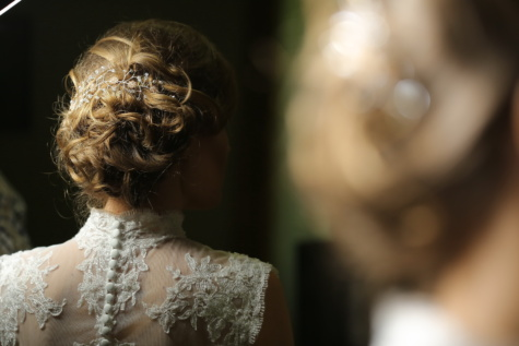 hairstyle, glamour, blonde, lady, salon, bride, elegance, wedding dress, luxury, wedding