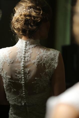 účes, nevěsta, blond vlasy, elegance, móda, hedvábí, dáma, svatba, Žena, šaty