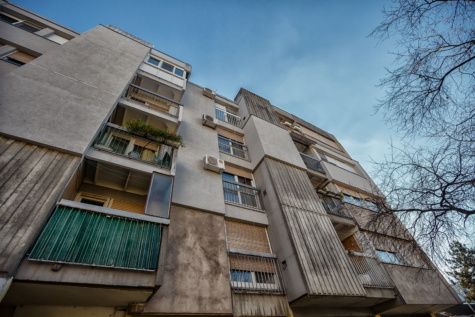 socialism, architectural style, building, balcony, facade, estate, architecture, house, urban, city