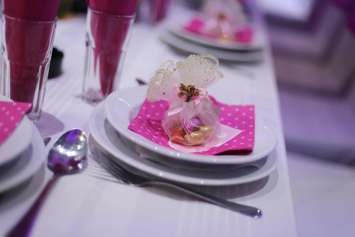 Besteck, Kantine, Platte, Geschenke, Bonbon, Hochzeitsort, Liebe, romantische, Hochzeit, Speise-