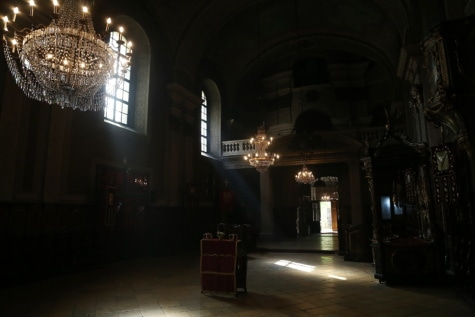 shadow, darkness, church, spirituality, interior decoration, inside, dark, sunlight, sunrays, chandelier