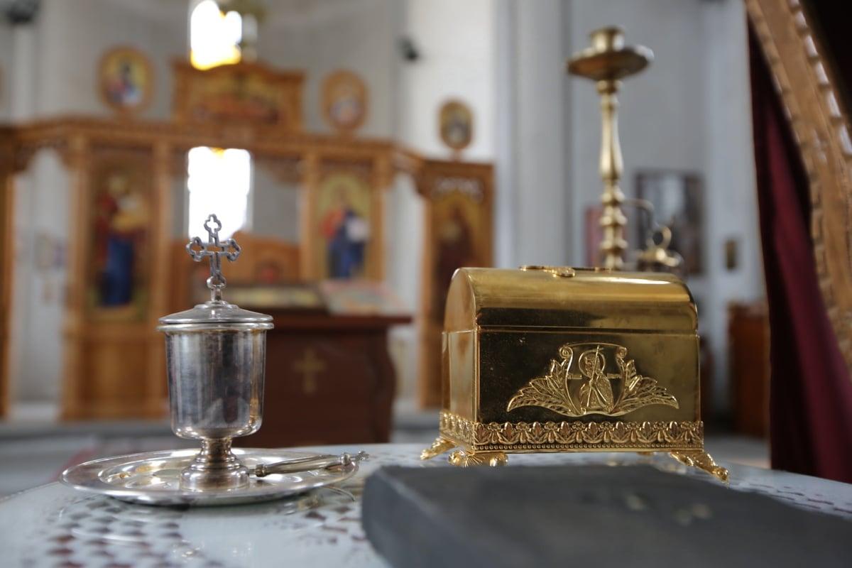 Église, religieux, brillante, objet, Design d'intérieur, autel, à l'intérieur, religion, antique, spiritualité