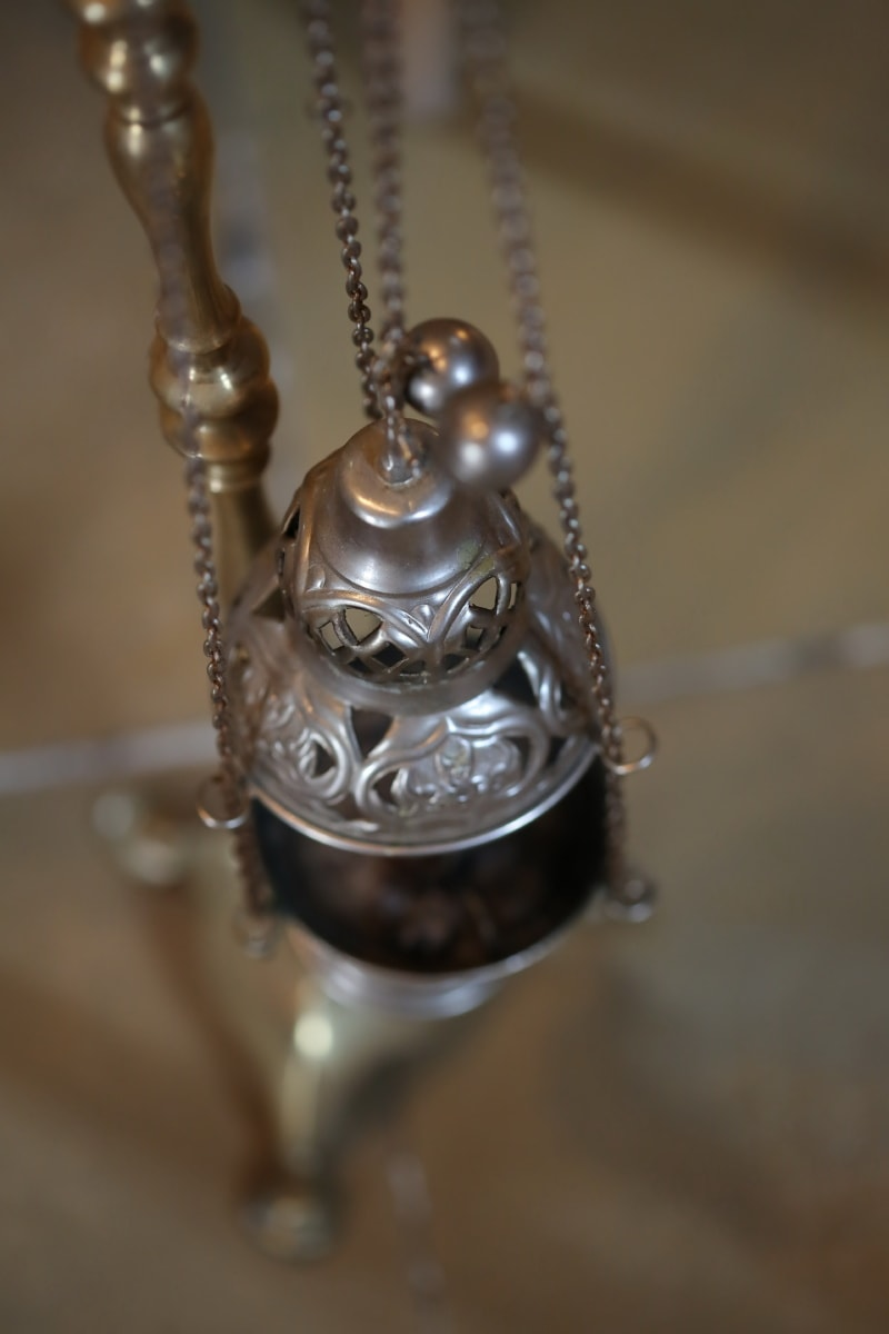 silver, religious, object, chain, hanging, christianity, shining, vintage, antique, old