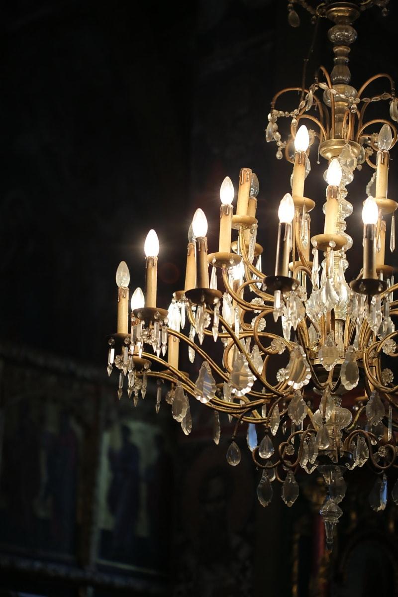 lights, light bulb, illumination, chandelier, lamp, lantern, light, old, illuminated, antique