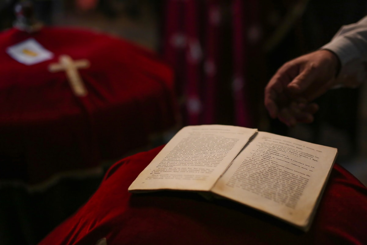 bible, book, church, old, prayer, poetry, religion, spirituality, people, ceremony