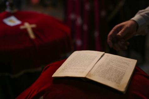 聖書, 本, 教会, 古い, 祈り, 詩, 宗教, 霊性, 人々, 式