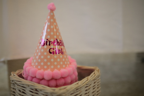 birthday, hat, decoration, pinkish, wicker basket, cone, traditional, wood, handmade, indoors