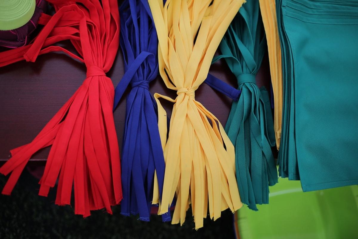 Baumwolle, bunte, Textil, Workshop, Farbe, Textur, Design, gelb, Muster, Detail