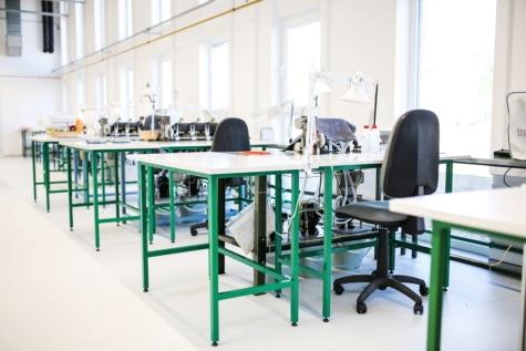 am Arbeitsplatz, Factory, Büro, Tische, leere, Branche, Geschäft, Stuhl, Innenraum, Möbel