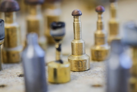 Werkzeug, Factory, Branche, Teile, alt, Messing, verwischen, drinnen, Kupfer, Stahl