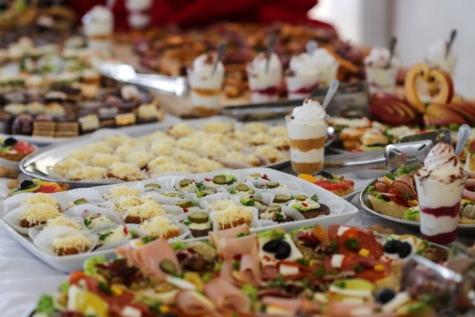 buffet, Sushi, alimentaire, repas, dîner, restaurant, déjeuner, délicieux, à manger, traditionnel