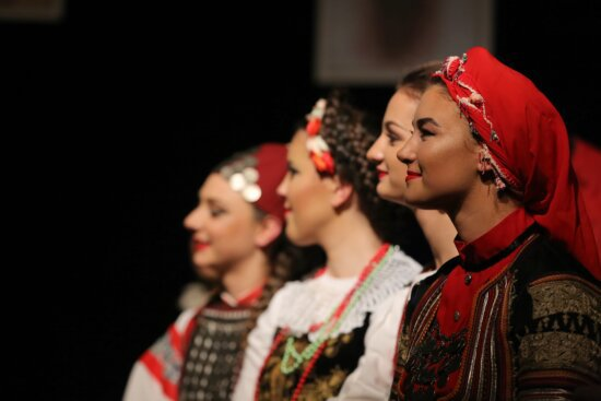 headscarf, pretty girl, scarf, folk, outfit, clothes, traditional, people, music, person