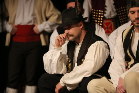 theatre, folk, Serbia, opera, old fashioned, entertainer, entertainment, traditional, men, person