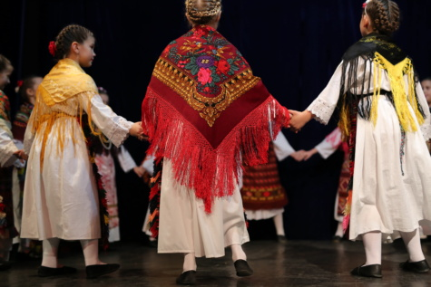 handmade, scarf, traditional, children, clothes, dancer, dancing, costume, folk, theatre