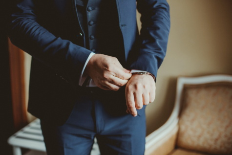 gentleman, businessperson, businessman, suit, man, person, people, indoors, wedding, business