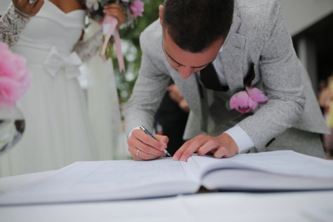 groom, signature, document, marriage, man, woman, people, person, working, wedding