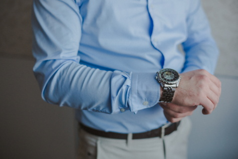 wristwatch, platinum, shining, clock, analog clock, fashion, outfit, gentleman, businessman, suit