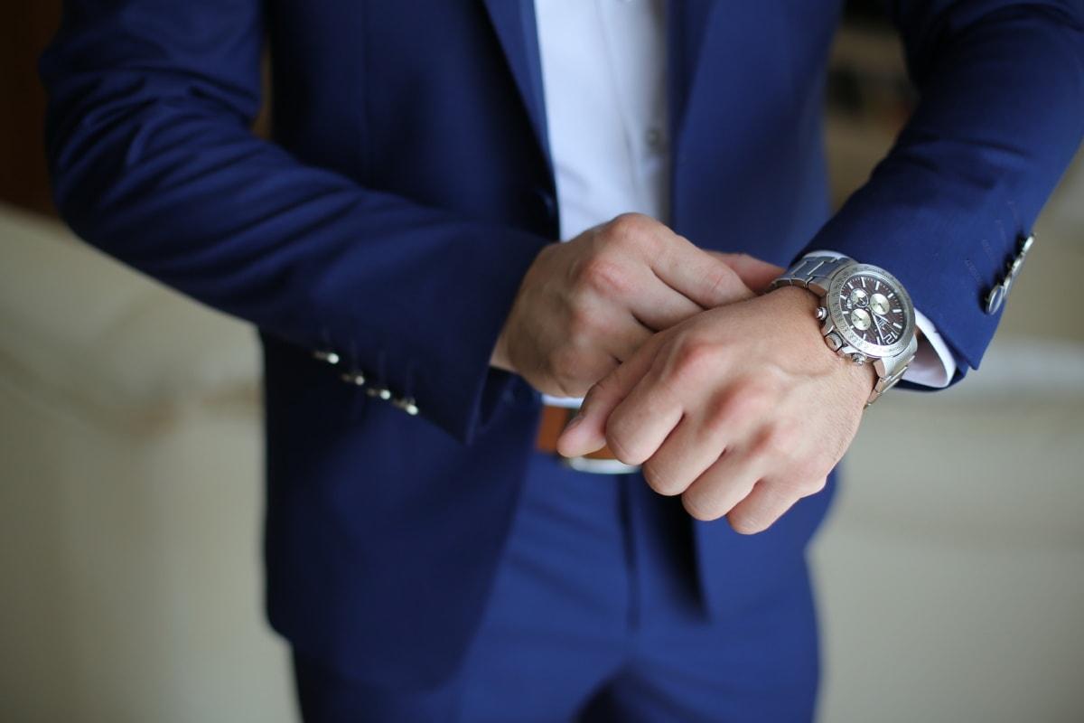 gentleman, wristwatch, luxury, man, hand, businessman, business, people, cooperation, indoors