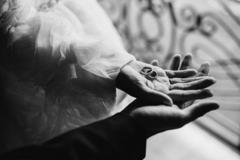 romance, hands, love, wedding ring, monochrome, man, woman, arm, close-up, people