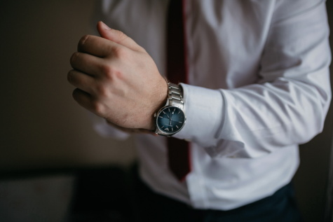 metal, wristwatch, businessperson, suit, arm, tuxedo suit, hand, man, people, time