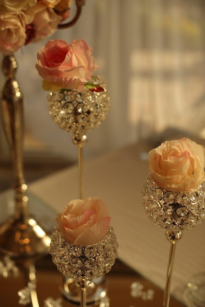 Luxus, elegant, Liebe, Interieur-design, Romantik, drinnen, glänzend, Engagement, Dekoration, Dessert