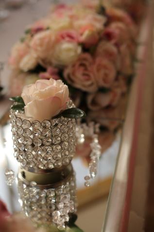 vaso, cristallo, decorazione, bouquet, Rose, fiore, lusso, amore, elegante, bella