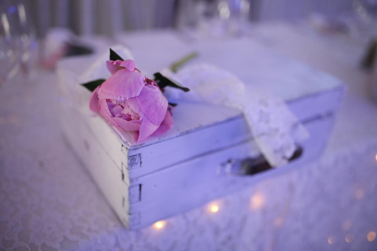 flower, love, blur, romance, indoors, interior design, still life, outdoors, pink, box