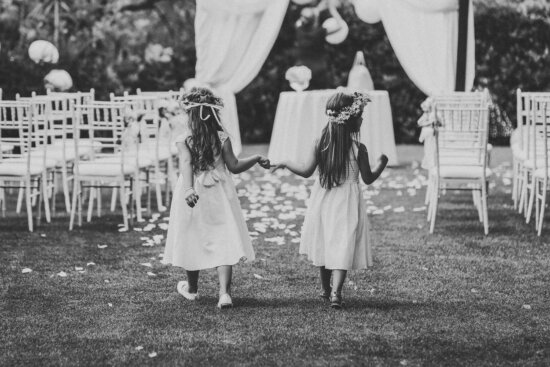 childhood, friendship, girls, black and white, nostalgia, people, many, child, group, outfit