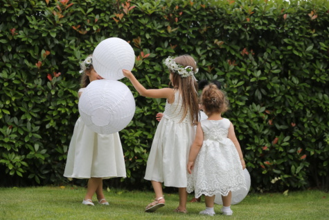 novia, elementos secundarios, amigos, infancia, amistad, chicas, jardín, juguetón, chica, niño