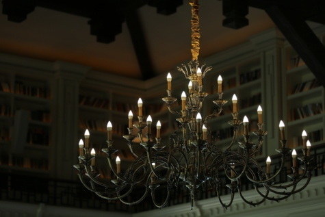 big, chandelier, ceiling, library, fancy, luxury, light, church, lamp, architecture